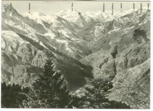 Switzerland, GROTTO-PENSIONE AL CORMANICC, Locarno-Cardada, 1956 used Postcard