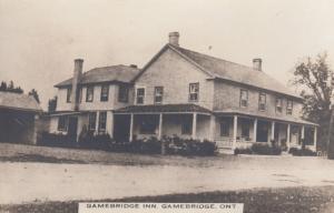 RP: GAMEBRIDGE , Ontario, Canada, 1900-10s ; Gamebridge Inn