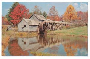 Mabry Mill Blue Ridge Parkway Virginia Autumn VA