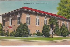 Mississippi Hattiesburg Public Library 1944
