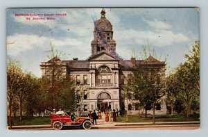 St Joseph MI-Michigan, Berrien County Courthouse, Vintage Postcard