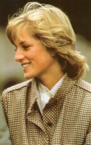 Princess Diana Honeymoon Portrait at Balmoral 1981 Postcard