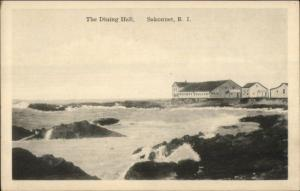 Sakonnet RI The Dining Hall c1915 Postcard