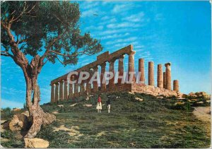 Postcard Modern Agrigento Temple of Juno