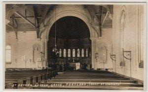 Dorset; St Peter's Church, Grove, Portland, RP PPC, Unposted, c 1920's