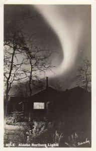 RP: Northern Lights , Alaska , 1930-40s