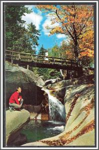 New Hampshire, White Mountains The Basin Franconia Notch - [NH-175]