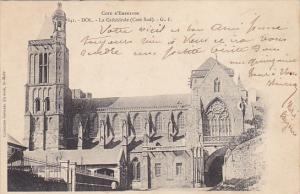 France Dol de Bretagne La Cathedrale cote Sud 1902
