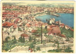 Croatia, SPLIT, 1959 used Postcard