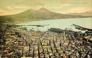Italy - Naples. Panoramic View from San Martino