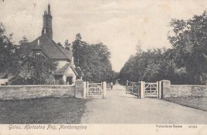 Gates Harleston Firs Northampton Old Postcard