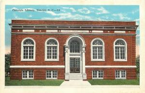 Sumter South Carolina~Bunches of New Windows on Carnegie Library c1930