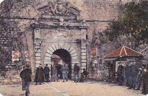 Montenegro Das Hauptor von Cattaro
