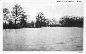 Newport Arkansas~Newport Lake~1920 Postcard