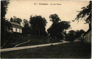 CPA Cempuis- La rue Verte FRANCE (1020820)