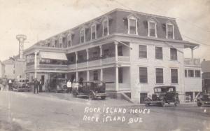 RP: PU-1932 ROCK ISLAND , Quebec , Canada, Rock Island House
