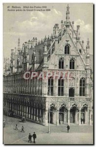 Postcard Mechelen Hotel Old Post Old Palace of the Grand Council