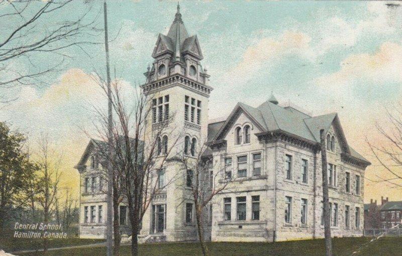 HAMILTON , Ontario , Canada , 1908 ; Central School