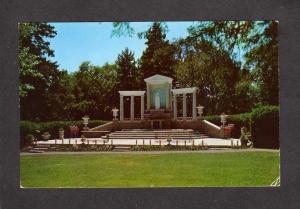 ME Our Lady of Fatima Shrine Oblate Fathers Seminary Bar Harbor Maine Postcard