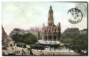 Paris Postcard Old Trinity Church