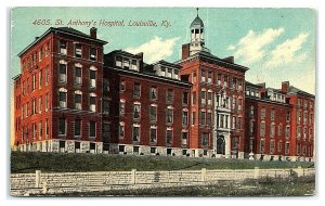 St. Anthony Hospital, Louisville, KY Postcard *7C10