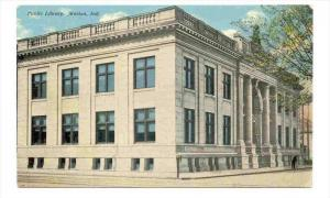 Public Library, Marion, Indiana, 1900-1910s