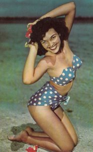 Bikini Girl Pinup , 1950-60s