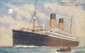 White Star Line, Twin-Screw S. S. Doric, Ocean Liner Cruise Ship, 20-30s