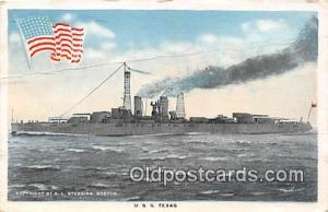USS Texas  Postcards Post Cards Old Vintage Antique  USS Texas