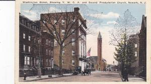 NEWARK, New Jersey, 00-10s; Washington St., Y.W.C.A. & 2nd Presbyterian Church