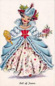 Doll Of France In Traditional Costume