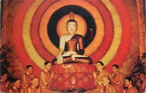 Ceylon Thimbirigasyaya Asokharamaya Temple postcard