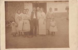 Hungarian types family social history early photo