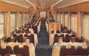 Southern Pacific, Dining Car, Shasta Daylight Train Locomotive  Steam Engine ...