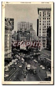 Old Postcard USA Times Square Ewing Galloway