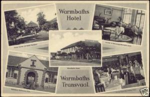 south africa, Transvaal, BELA BELA, WARMBATHS Hotel 30s