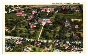 Hood College, Frederick, MD Postcard