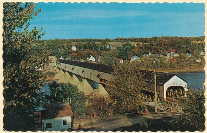 Hartland NB, New Brunswick - Canada - World's Longest Covered Bridge