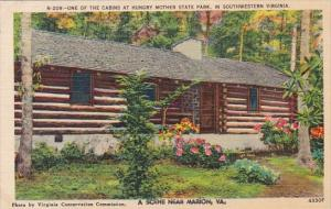 One Of The Cabins At Hungry Mother State Park Un Southwestern Virginia