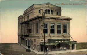 San Antonio TX Plaza Theatre c1910 Postcard