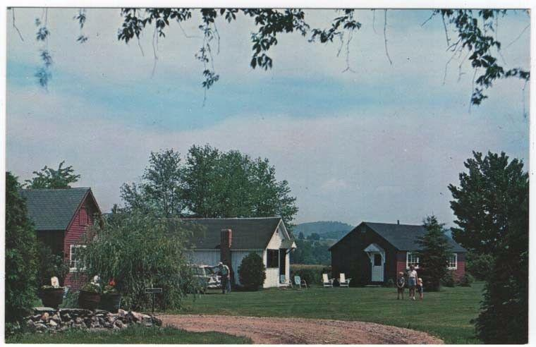 Bradford, Vermont, Early View of The  Garden Motor Court