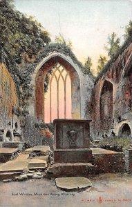 East Window, Muckross Abbey Killarney Ireland Unused