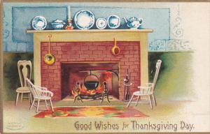 CLAPPSADDLE : Thanksgiving fireplace , 00-10s