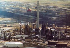 Canada - Alberta, Fort McMurray. Syncrude Plant Site