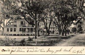 Georgia Savannah Isle Of Hope 1908
