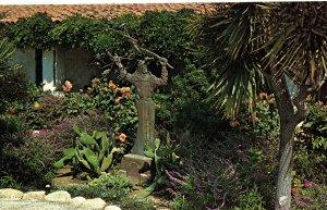 Mission San Carlos Borromeo, Carmel, CA.  Inner Court