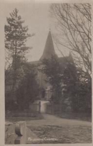Polegate Church Sussex WW1 Antique Real Photo Postcard