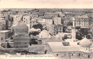 Mosque of Prophet Daniel and General View Alexandria Egypt, Egypte, Africa Un...