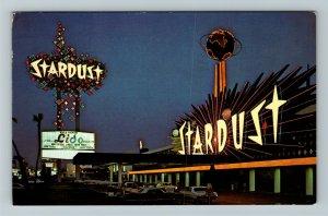 Las Vegas NV- Nevada, Stardust Hotel, Chrome c1973 Postcard