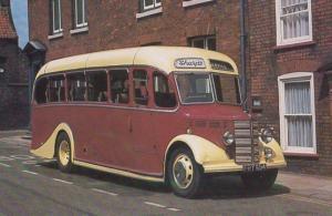 1948 Bedford OB Duple Vega Sharps Boston Lincs Bus Rare Transportation Postcard
